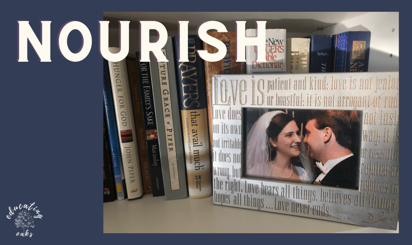 Nourishing a Marriage