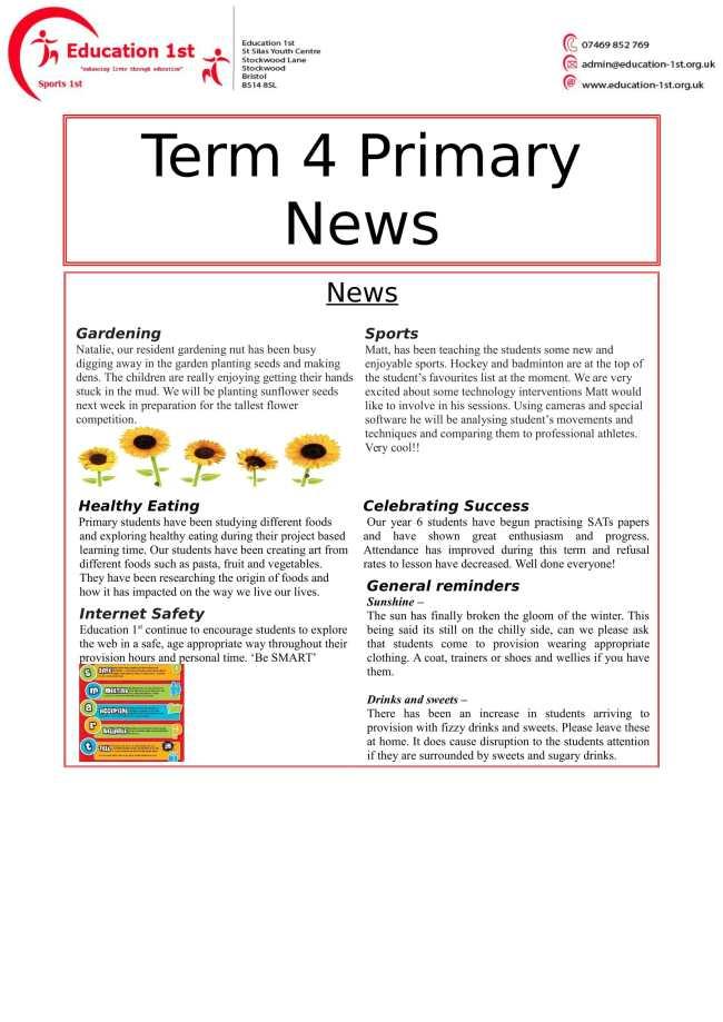 NEWS LETTER T4-1