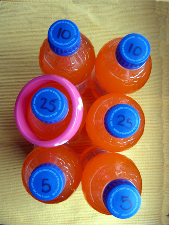 Ring The Bottle A Math Carnival Game Activity