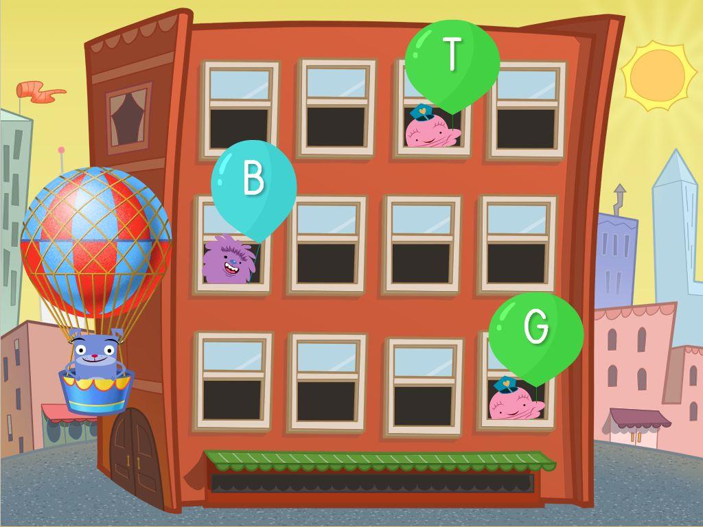 Alphabet Balloon Pop Game