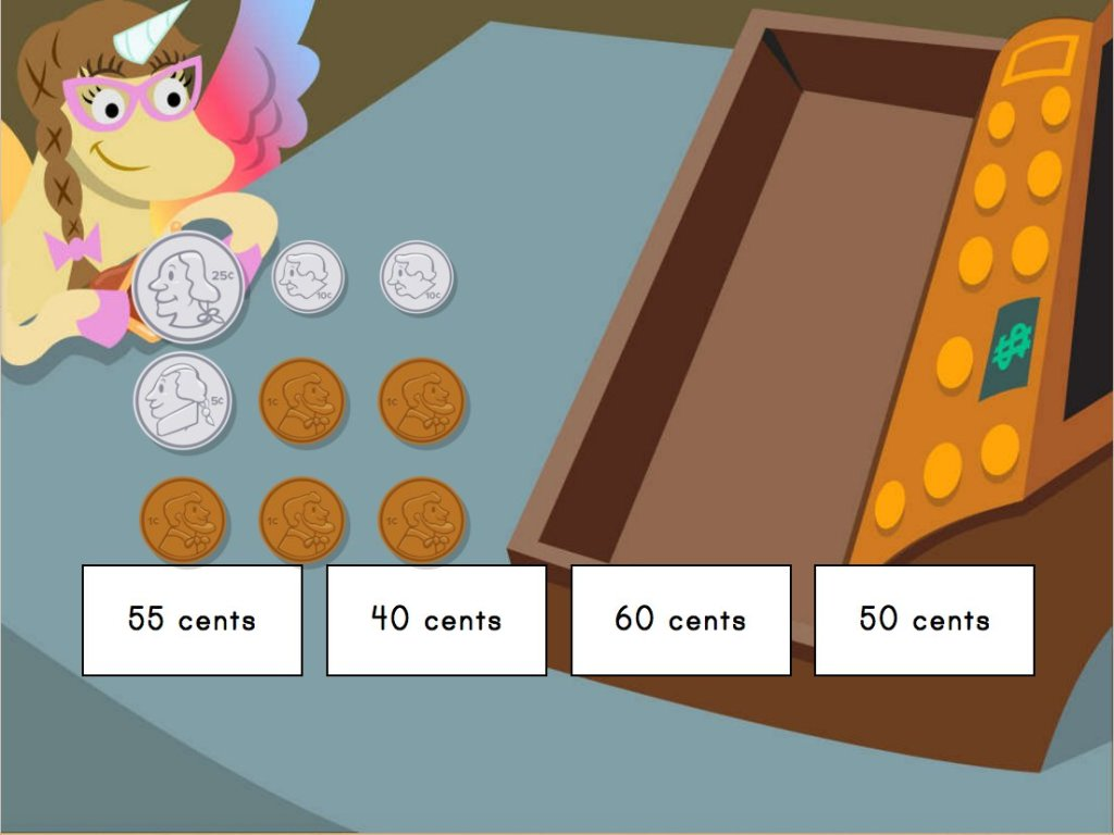 Money Math Shopping With Penelope Game