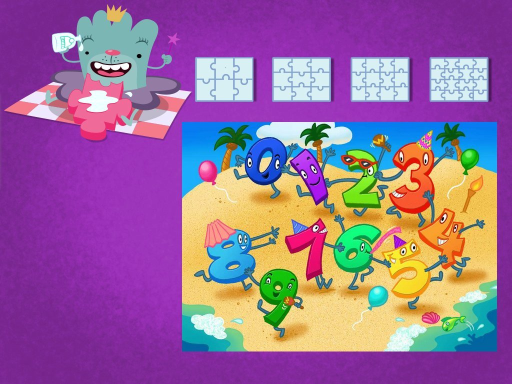 Numbers 1 10 Puzzle Game