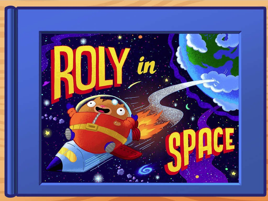 Roly In Space