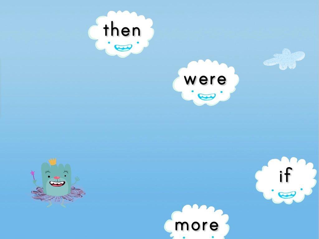 Sight Words Cloud Catcher Set 2