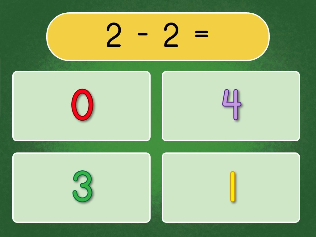 Subtraction Within 10 Quiz Game