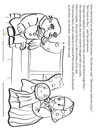 Folktale Coloring Pages Coloring Pages