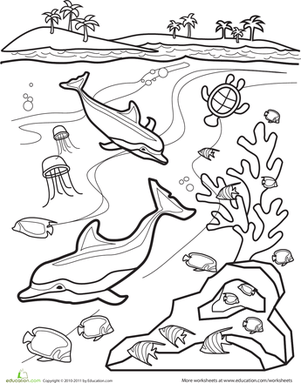 Underwater Worksheet