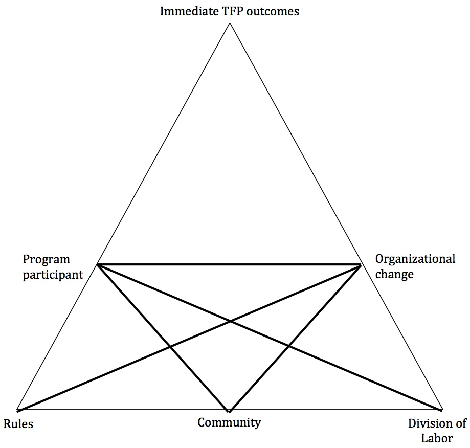 Technology foresight and organizational change: A CHAT