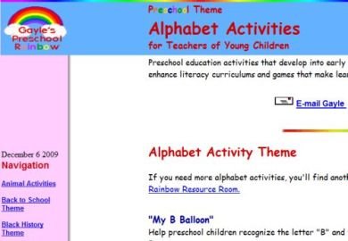 A To Z Teacher Stuff Lesson Plans Learning Centers