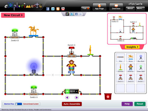 Simple Electric Circuit Diagram For Kids Circuit And Schematics