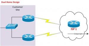 BGP Dual Home Design
