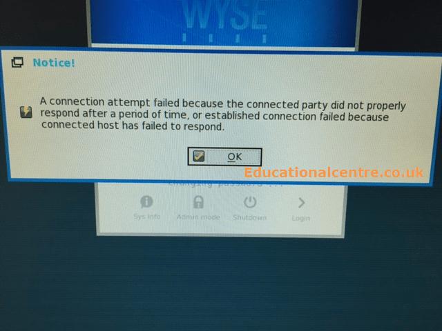 Citrix XenDesktop - Password Reset not working on Wyse