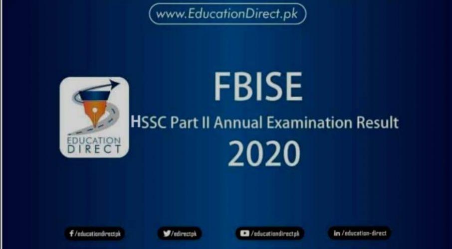 FBISE Inter FA Fsc Result 2020