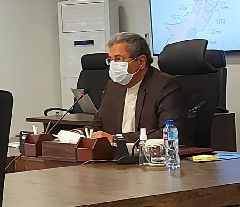 Shafqat Mahmood chairs NCOC meeting