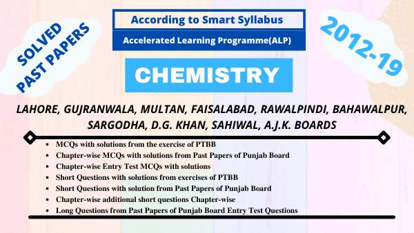 Chemistry Fsc Part 2-Chapterwise Past Papers