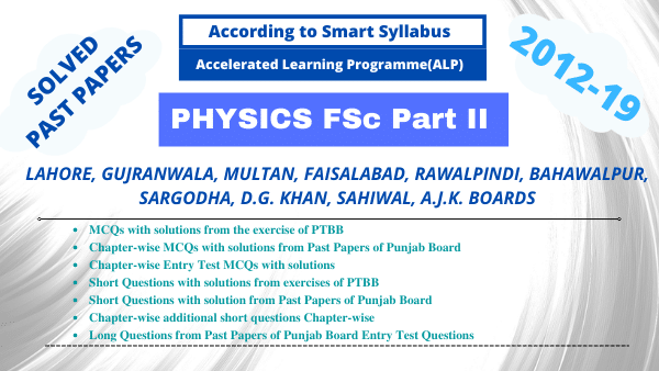 Physics Fsc. Part II ChapterWise Past Papers