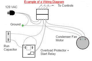 refrigerator compressor wiring diagram example_01 12v fridge compressor wiring diagram efcaviation com compressor wiring schematic at mifinder.co