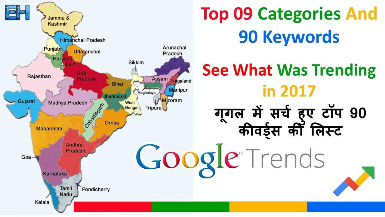 Google trending keywords list 2017