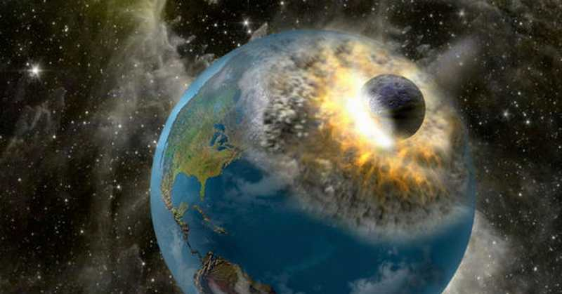What if the moon breaks down on the earth
