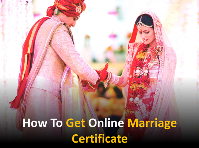 How to get online marriage certificate