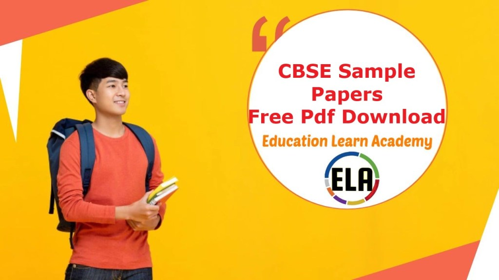 CBSE Sample Papers)