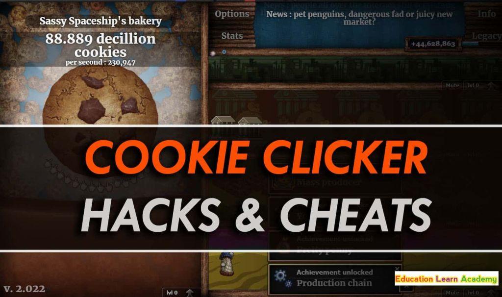 Cookie Clicker Hacks