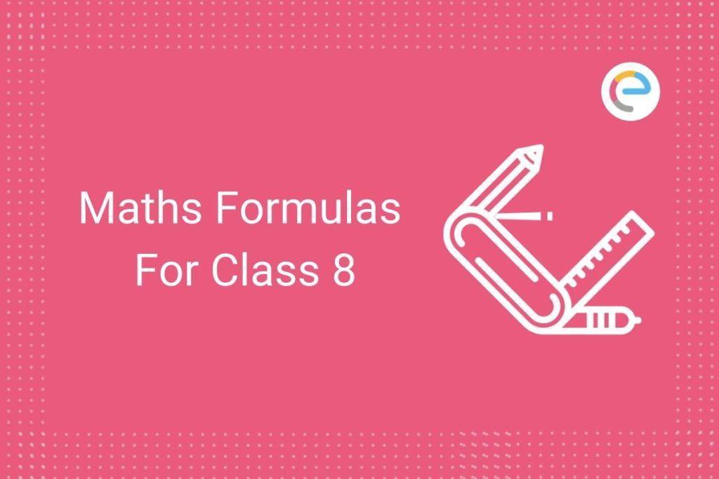 Education Learn Academy CBSE Class 8 Maths Formulas