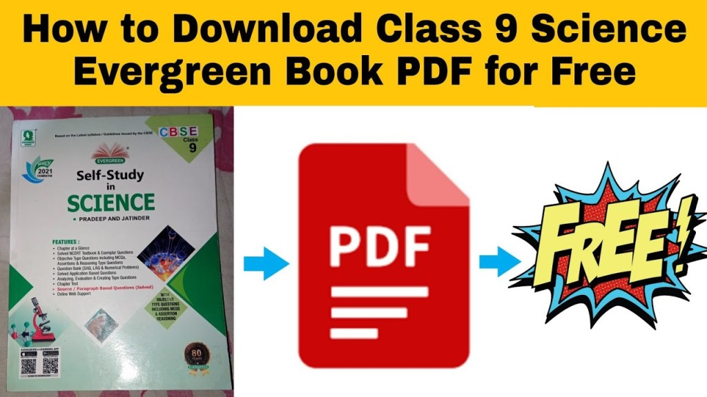Evergreen Science Solutions Class 9