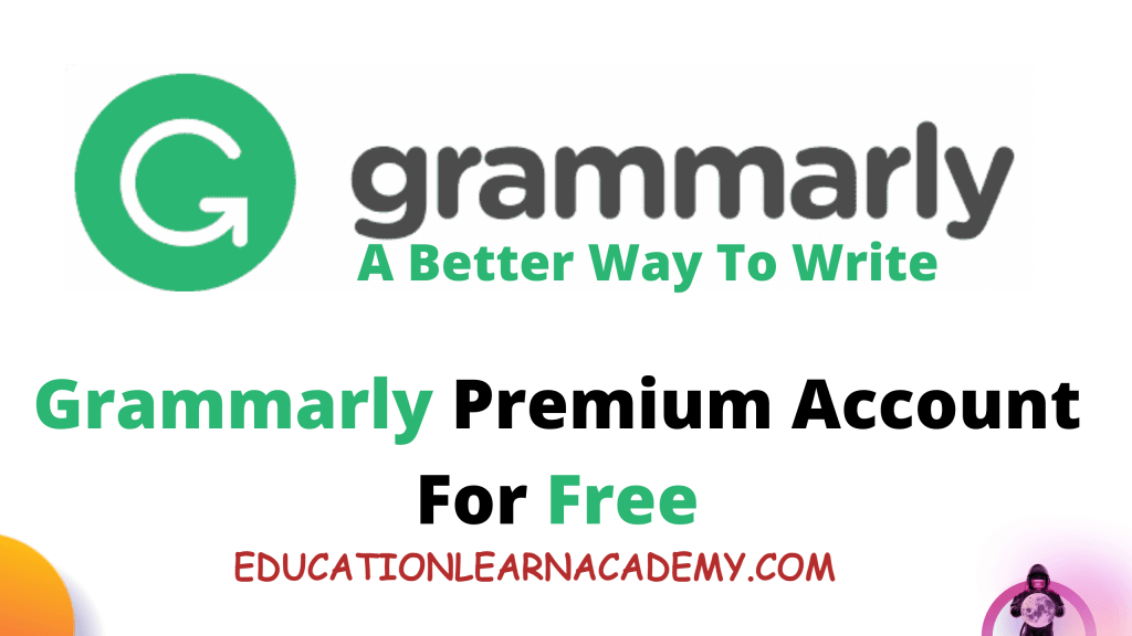 Get Grammarly Premium Account Free Cookies Update