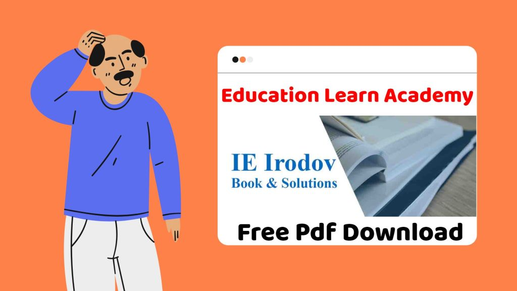 IE Irodov Solutions Free PDF Download