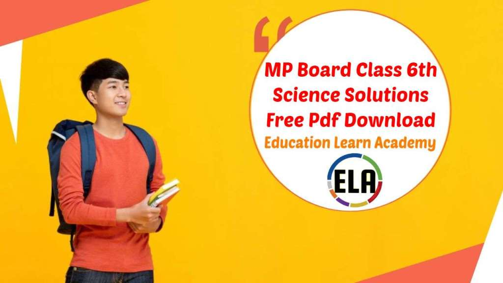 MP Board Class 6th Science Solutions Free Pdf Download