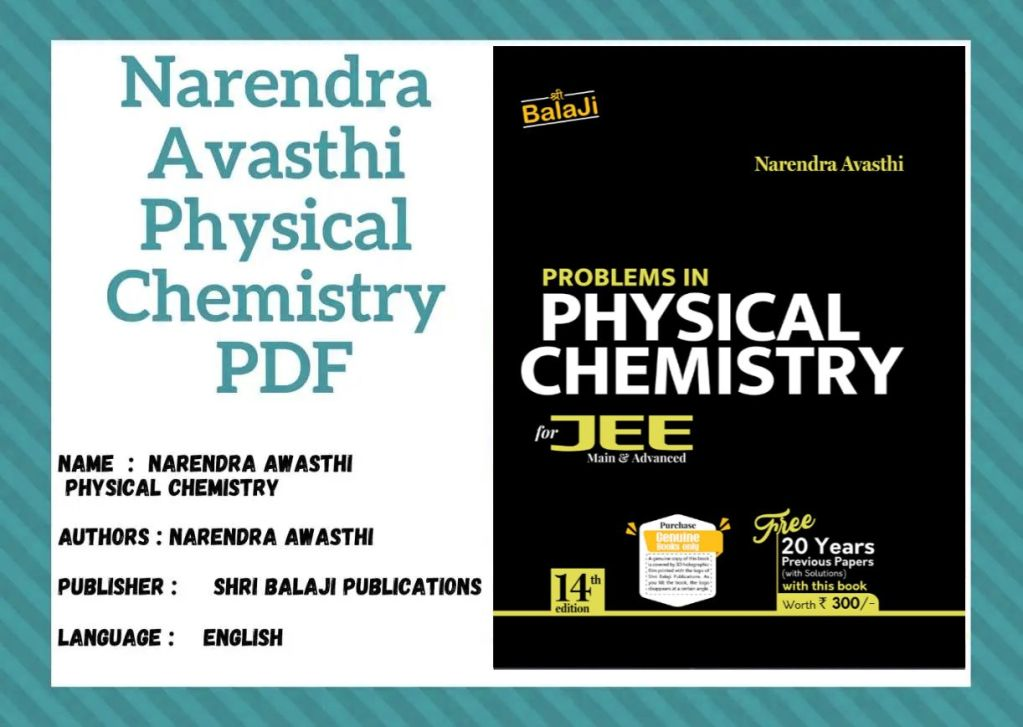 Narendra Awasthi Solutions For Physical Chemistry