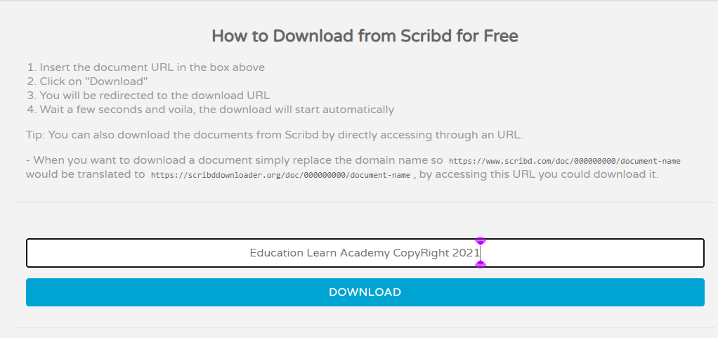 How to Download Paid Documents from Scribd in 2021