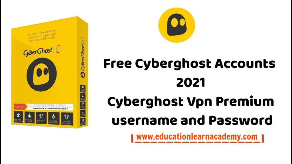cyberghost premium account free educationlearnacademy