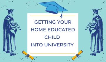 Getting your home educated child into university