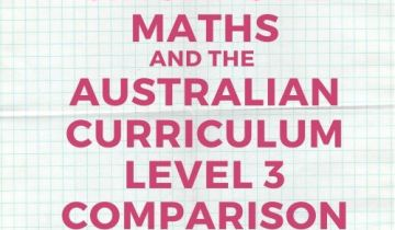 Australian Curriculum and Singapore maths Level 3 comparison