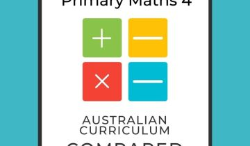 Singapore maths level 4 and Australian Curriculum compared