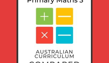 Singapore maths level 3 and Australian Curriculum compared