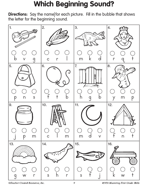 Common Worksheets » Beginning And Ending Sounds Worksheets ...