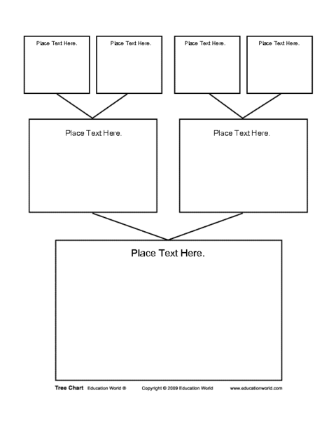 blank tree diagram graphic organizer jayco eagle battery wiring chart template education world search