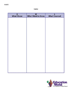 Search also kwl chart template education world rh educationworld