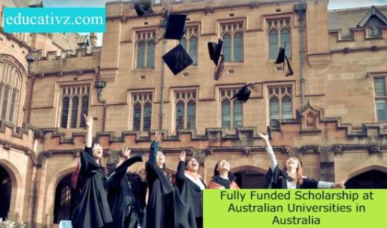 Fully Funded Scholarship 2021 Australian University at Australia Apply Online