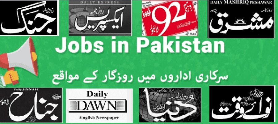 Monday 03 May 2021 Newspaper Jobs In Pakistan Latest