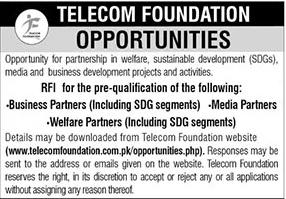 Telecom Foundation Jobs 2021