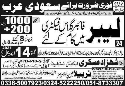 Saudi Arab Jobs April 2021 Latest Express Newspaper