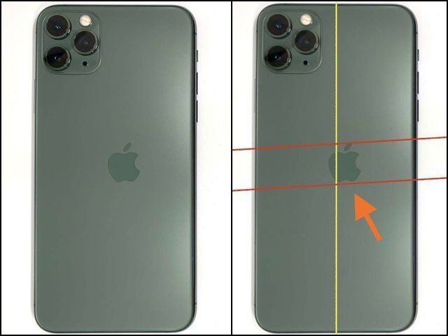 False news made the iPhone with the crooked logo valuable