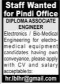 Diploma Associates Engineers Jobs 2021 Pindi Latest