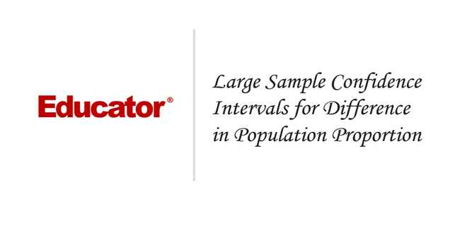 45. [Large Sample Confidence Intervals for Difference in