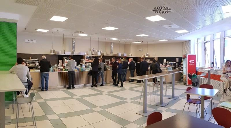 Il nuovo Bar in Mensa&Caffè.23 dopo la ristrutturazione