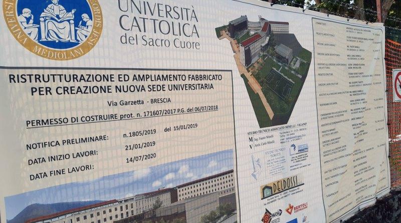 Lavori a Brescia nel 2021